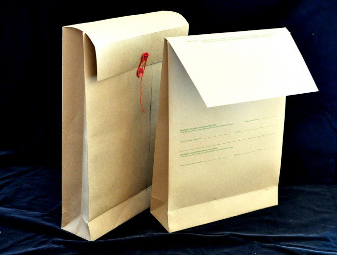 GUSSETED ENVELOPES
